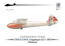 Czech Master Resin 1/72 Goppingen Go-3 / DFS Minimoa # 72G5016