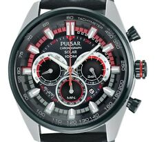 DISPLAY ITEM $185 Pulsar Men's Solar Chronograph Japanese Watch PX5031