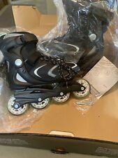 Rollerblade Bladerunner Women's Inline Skate Size 6 Black & Light BlueNew