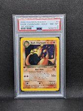 Dark Charizard 21/82 Team Rocket 1st Edition Holo Rare Pokemon PSA 8 NM-MT