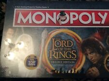 Lord Of The Rings Monopoly Board Game Trilogy Edition New and Sealed
