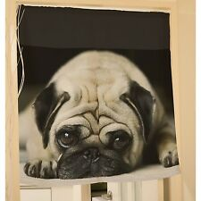 Pug Dog Puppy Hanging Door Curtain Window Scarf y39 y0135