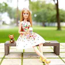 Fashion Doll Barbie Look Collector Edition Park Pretty Character Pretend PLay