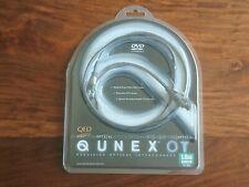 QED Qunex OT Digital Optical Cable. 1 meter (3.2 feet) Toslink connectors