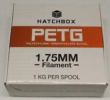 HATCHBOX PETG 3D Printer Filament, 1.75 mm, White