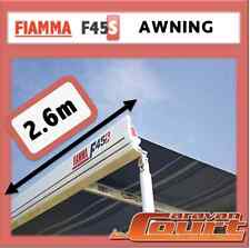 NEW FIAMMA F45S 2.6m WIND OUT AWNING ANNEX 4X4 CAMPERS CARAVANS MOTORHOMES VANS