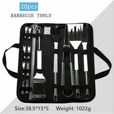 New ListingStainless Steel Bbq Tools Set Barbecue Utensil Outdoor Camping Grill Cooking Kit