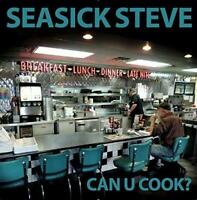 SEASICK STEVE ‎– CAN U COOK? LIMITED 180G CLEAR VINYL LP (NEW/SEALED)
