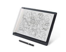 Wacom Sketchpad Pro Drawing Tablet (Brown Leather Back) Windows Mac iOS Android