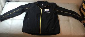 NWT G-III Pittsburgh Steelers On Field Sideline Weatherproof Lined Jacket XL