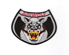 Airwolf TV Show Logo Embroidered Shoulder Patch, NEW UNUSED