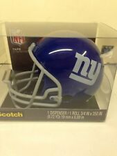 3M Scotch Magic Tape Dispenser NFL New York Giants Football Helmet w/ 1 Roll