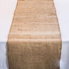 Table Runner Rustic Burlap Hessian Jute Natural 30cmW x 200cmL Wedding Table
