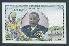 F.C. FRENCH EQUATORIAL AFRICA , 100 FRANCOS 1957 , S/C ( UNC ) , P.32 .