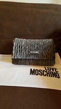 Love moschino Borsa fabric Grigio, women's cross body bag, Grey. New