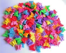 BEAUTIFUL MIXED BUTTERFLY BEADS - YOU GET 50! - FAST FREE SHIPPING