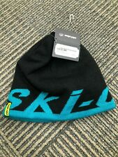 Black/teal Ski-Doo hat