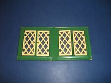 VINTAGE TRIANG DOLLHOUSE TIN PLATE 1930s STYLE  WINDOW.