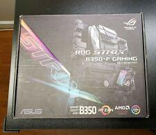 Asus Strix B350-F Motherboard & Ryzen 1700 CPU