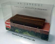 Busch 1682 Ladegut Stahlmatten H0 Scale 1 87 NEU OVP
