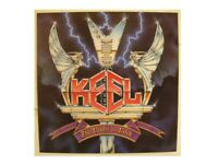 Keel Poster The Right To Rock Flat