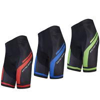 Pro Mens Cycling Shorts Padded Lycra Spandex Road Bike Tights Bicycle Shorts