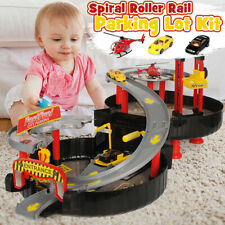 Children Track Car Parking Lot Set Racing Game Vehicle Construction Toy Gift