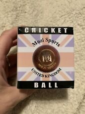 Mozi Sports Uk Cricket Ball, Single, White, New