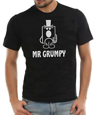 MR Grumpy Fathers Day Comedy T-Shirt Gift Present