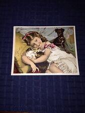 Scott's Emulsion Advertisement, Trading Card