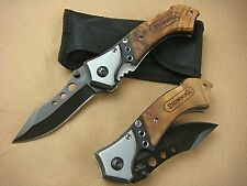 A0208 COLTELLO BROWING THREE EYE 56HRC 440C KNIFE LINE LOCKS CACCIA CINGHIALE