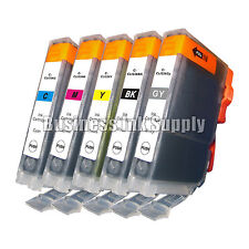 5 COLOR CLI-226 CLI226 CLI 226 CMY Gray Ink Canon Pixma MX882