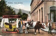 Postcard Portugal Madeira Carro de Bois Ox Cart 1934?