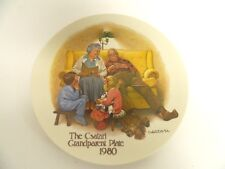 The Bedtime Story - Csatari Grandparent Plate 1980 - Knowles Collectible Plate