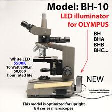 10 watt LED retrofit for Olympus BH series upright microscopes MODEL: BH-10