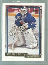 1992-93 Topps Gold #285 Stephane Fiset (ref44335)