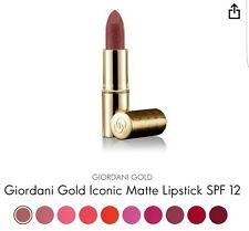 Oriflame Giordani Gold Iconic Matt Lippenstift SPF 12 - Nude Rose, Neu Angebot