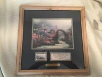 Vintage Thomas Kinkade Let Your Light Shine Collectors Series 1998 Framed w Glas