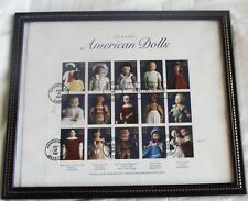 USPS CLASSIC AMERICAN DOLL STAMPS FIRST DAY ISSUE FULL SHEET 32 CENT STAMPS BLK