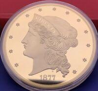 États-Unis 50 Dollars Liberty 1877, Médaille