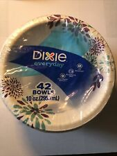 Party Dixie Everyday Disposable Paper Bowls 10 oz 42 count