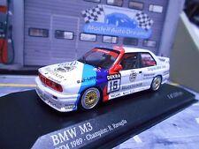 BMW M3 E30 DTM 1989 Schnitzer #15 Ravaglia Champion Meister Minichamps RAR 1:43