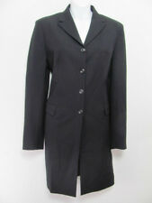 Piazza Sempione Womens Jacket Coat Wool Lined Classic Buttoned Size 42 Italy