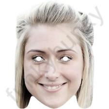 Laura Trott GB Cyclist Celebrity Sports Card Mask - All Our Masks Are Pre-Cut!