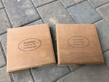 Kingsley Hot Stamp Machine 18pt Parisian UC/LC/Numerals 2 Boxes set EEUC