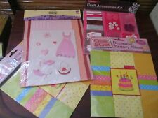 Card Making Paper Craft Accessories x 4  Packs Scrap Booking (NEW)