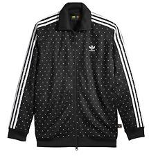 Adidas Originals Pharrell Williams Mens HU Track Top BR1821 Black/White SZ S-XXL
