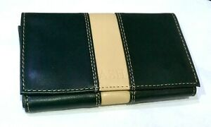 Tobacco Pouch Booklet Holder Wrap Around  Soft PU Lined Tobacco Section
