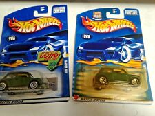 hotwheels mini coopers  2 diff countrys