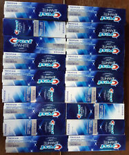 Lot of 24-Crest 3D White Luxe Diamond Strong Toothpaste, Brilliant Mint 4.8 oz.
